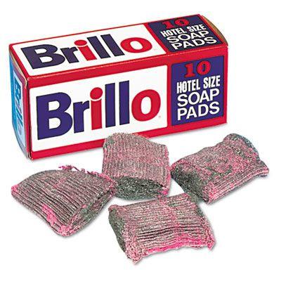 Brillo® Steel Wool Soap Pad W240000CT