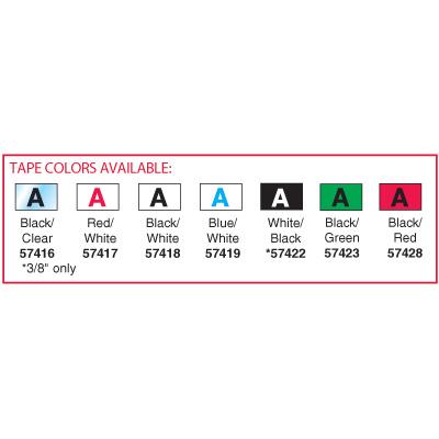 Brother® TC20 TC Cartridge Label Tapes - Black on White