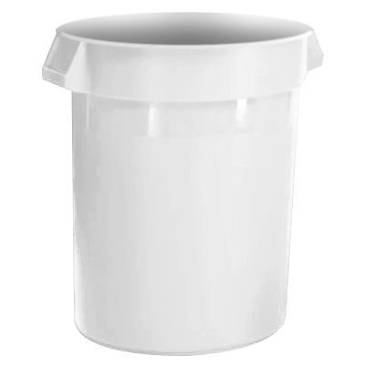 Rubbermaid® Brute® Round Containers - 20 Gallon 2620-WHT