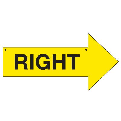 Bulk Arrow Signs - Right