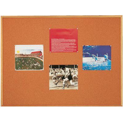 Oak Framed Open-Faced Bulletin Boards