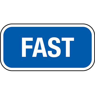 California Traffic & Parking Signs - Fast