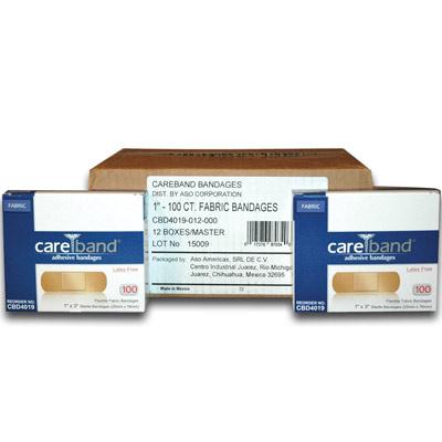 Care Band Adhesive Fabric Bandages CBD4019-012-000
