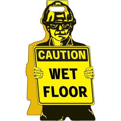 Caution Wet - Floor Stand