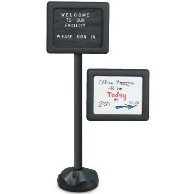 Economical Plastic Pedestal Sign
