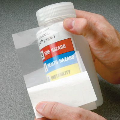 Chemical-Resistant Overlaminate For Labels