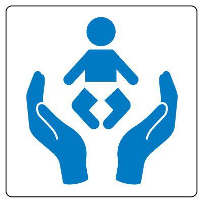 Child Care Center Symbol Sign
