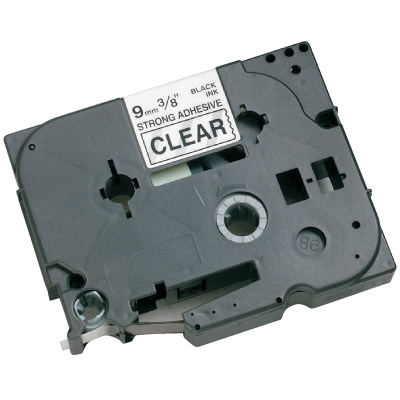 Brother® TZE-S251 Industrial TZ Series Label Tapes - Black on White