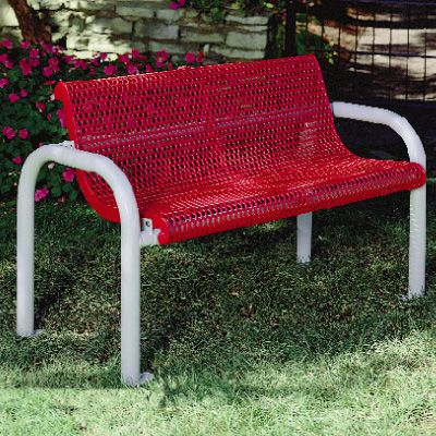Coated Steel Contour Bench