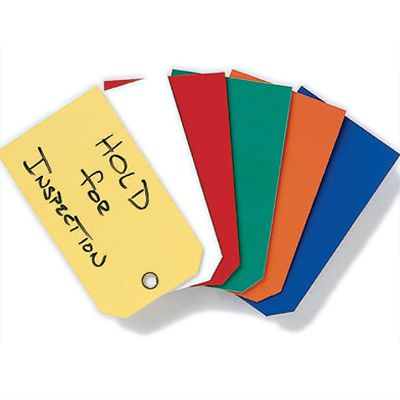 Color Coded Plastic Tags