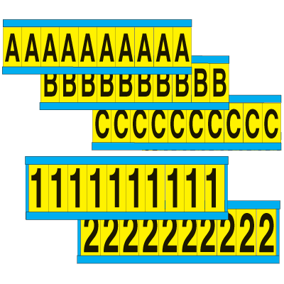 Letters And Numbers Combo Packs
