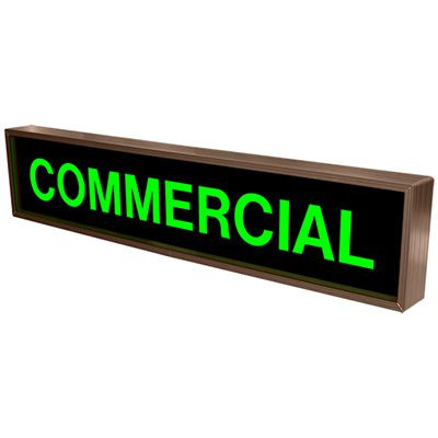 Commercial Backlit LED Sign