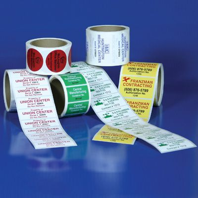 Custom Consecutively Numbered Roll Form Labels