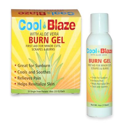 Cool Blaze with Aloe Vera Burn Gel