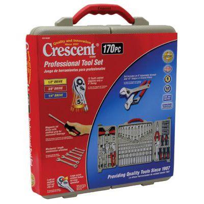 Cooper Hand Tools Crescent® - 170 Piece Professional Tool Sets CTK170CMP