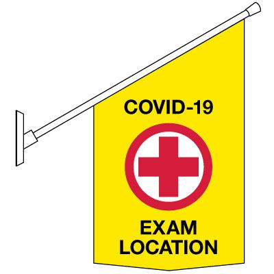 COVID-19 Safety Banners - Exam Location
