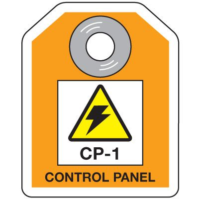 CP-1 Control Panel - Energy Source ID Tags