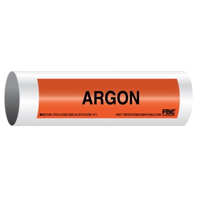 CPVC-Code™ Pipe Markers - Argon