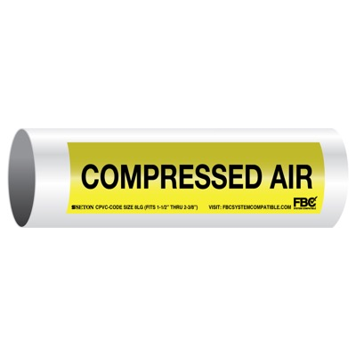 CPVC-Code™ Pipe Markers - Compressed Air