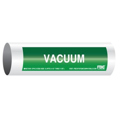 CPVC-Code™ Pipe Markers - Vacuum