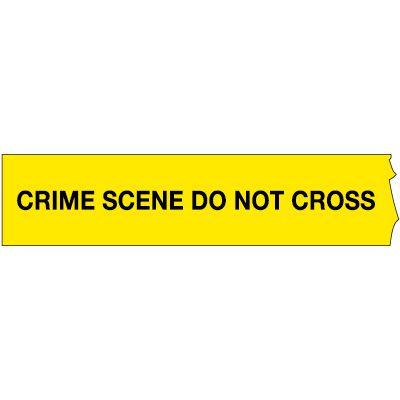 Crime Scene Barricade Tape