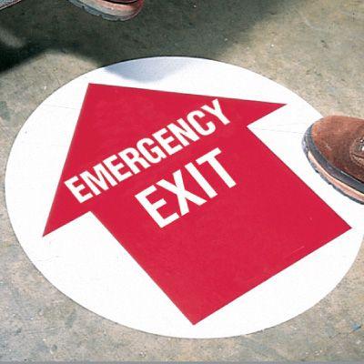 Custom Fire/Emergency Floor Markers