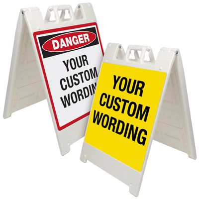 Custom A-Frame Signs