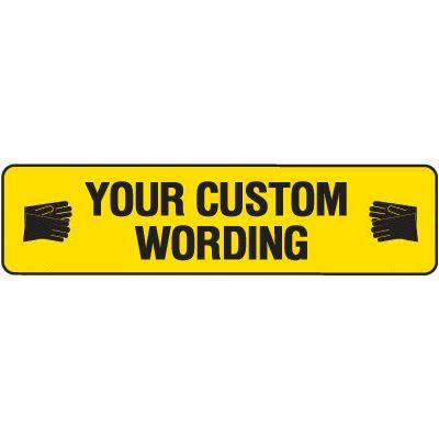 Custom Floor Safety Decal