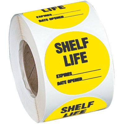 Custom Cold Adhesion Roll Form Labels