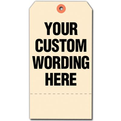 Custom Design Tyvek Tags