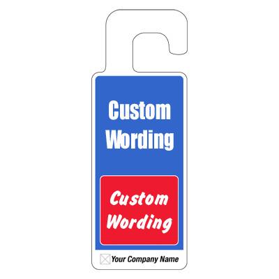 Custom Door Knob Hangers