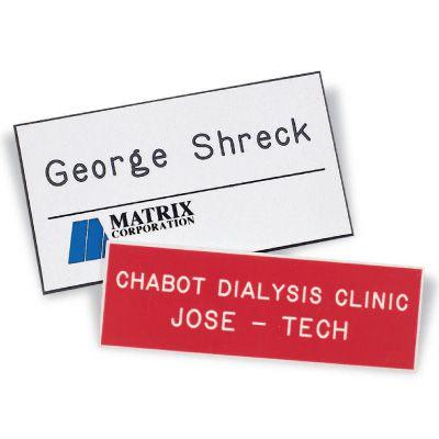 Custom Engraved Name Badges