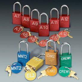 Custom American Lock® Engraved Padlocks with Key Tags