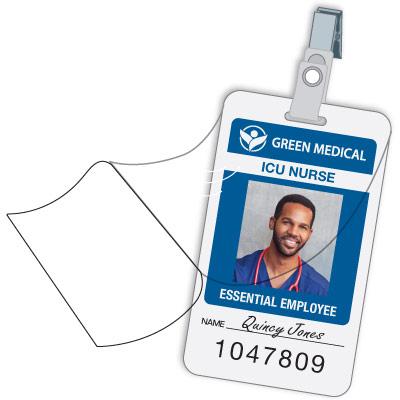 Custom Photo ID Badges
