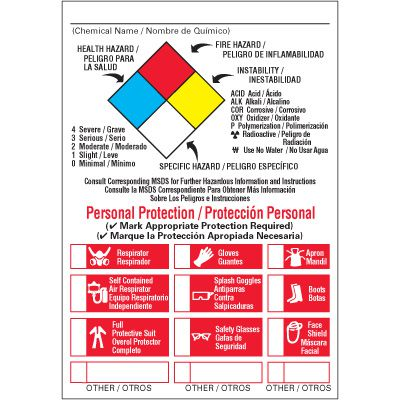 Custom NFPA Label