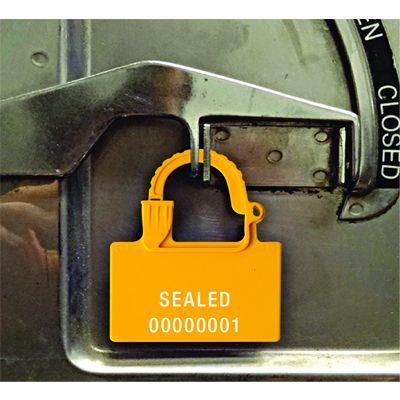 Custom One-Piece Padlock Security Seals