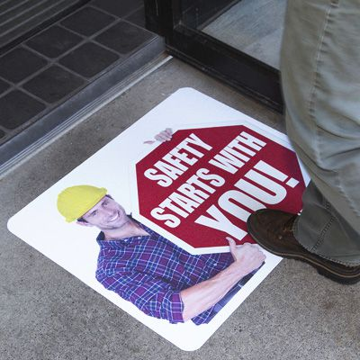 Custom Pavement Message Signs