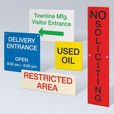 Custom Size Signs
