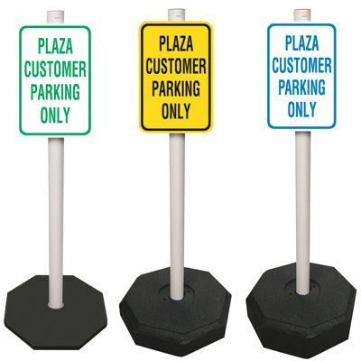 Custom Stanchion Sign System