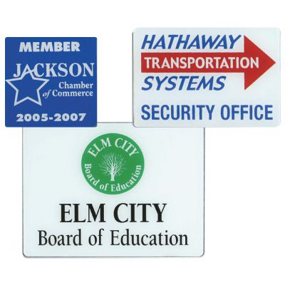 Custom Polished Plastic Signs
