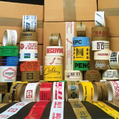 Custom Printed Shipping Tape