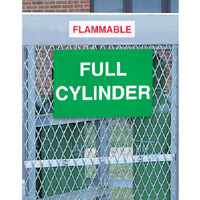 Cylinder Status Signs - Full Cylinder Storage Area