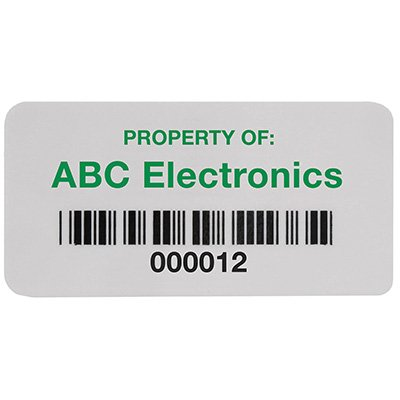 ReadyGuard™ Bar Code Labels