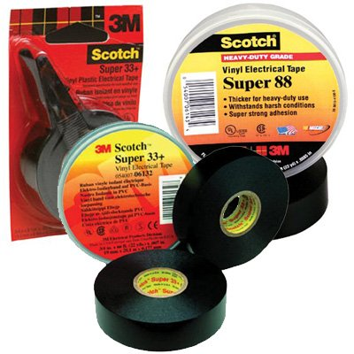 3M Electrical - Scotch® Super Vinyl Electrical Tapes 33+