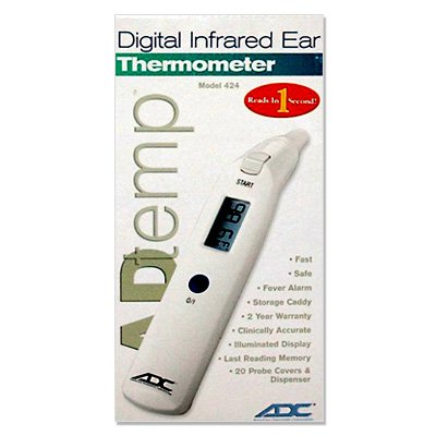 ADC® Adtemp™ 424 Digital Ear Thermometer