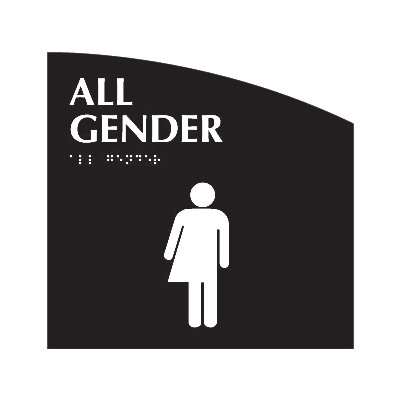 All Gender - Evolution Restroom Signs