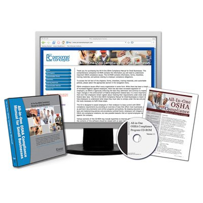 All-In-One OSHA Compliance Manual, with CD-ROM