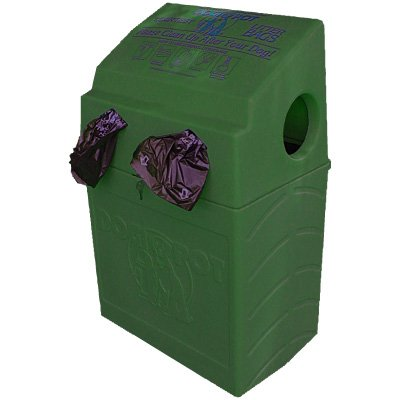 DOGIPOT Plastic Pet Waste Receptacle 1005-2
