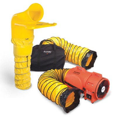 Allegro® Plastic Axial Blower System with MVP, 12""