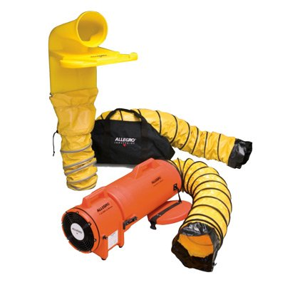 Allegro® Plastic COM-PAX-IAL Blower System with MVP, 8""